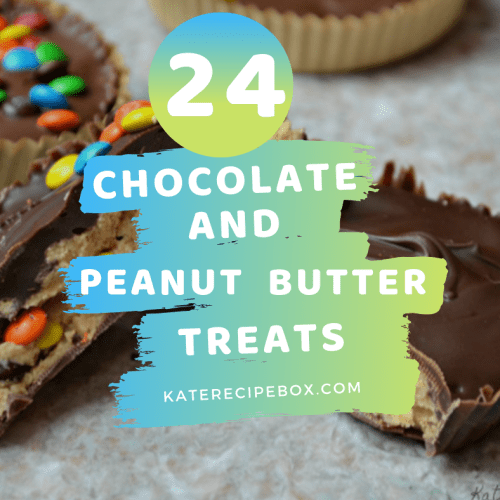 24 Chocolate + Peanut Butter Treats