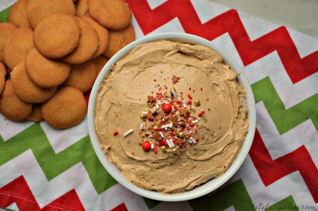 Gingerbread Cheesecake Dip 1