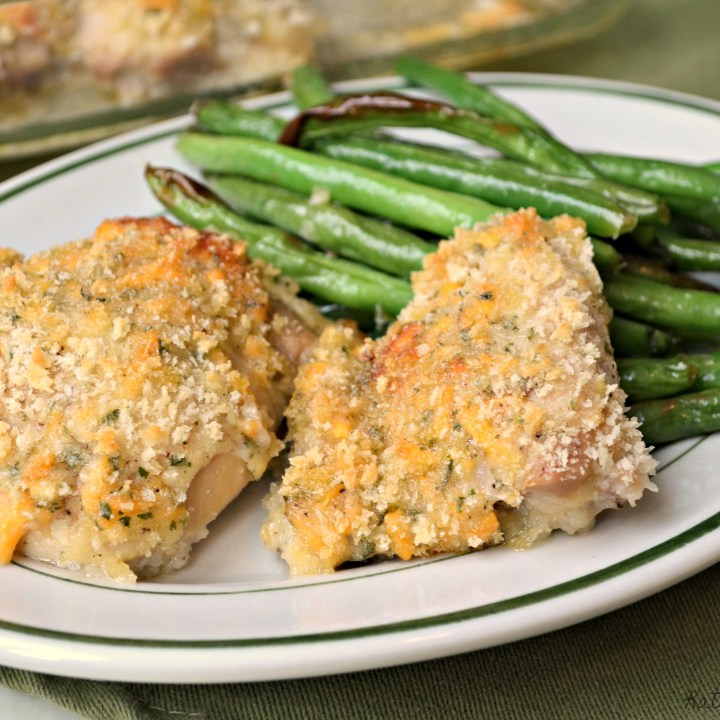 Cheddar Ranch Chicken Thighs