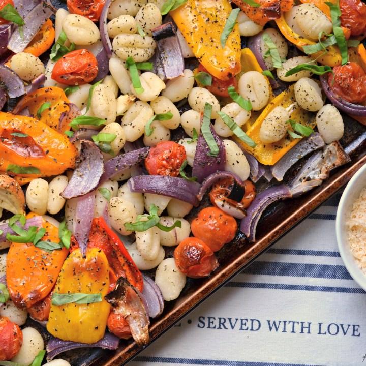 Sheet Pan Gnocchi & Vegetables