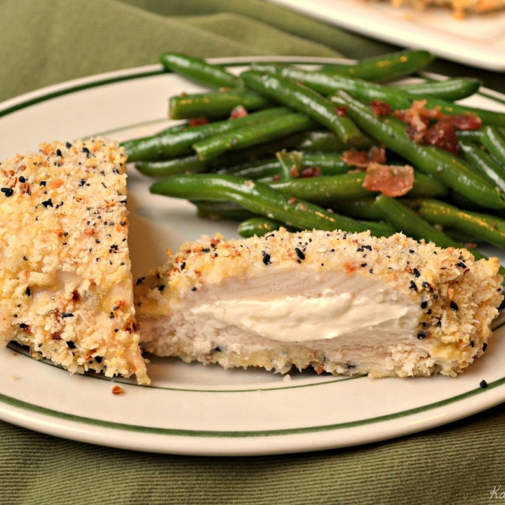 Cream Cheese Stuffed Everything Chicken