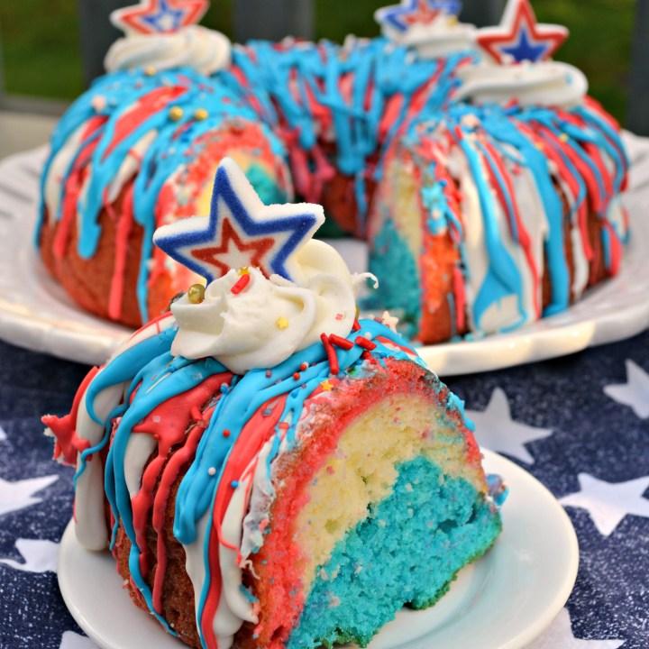 Patriotic Bundt Cake