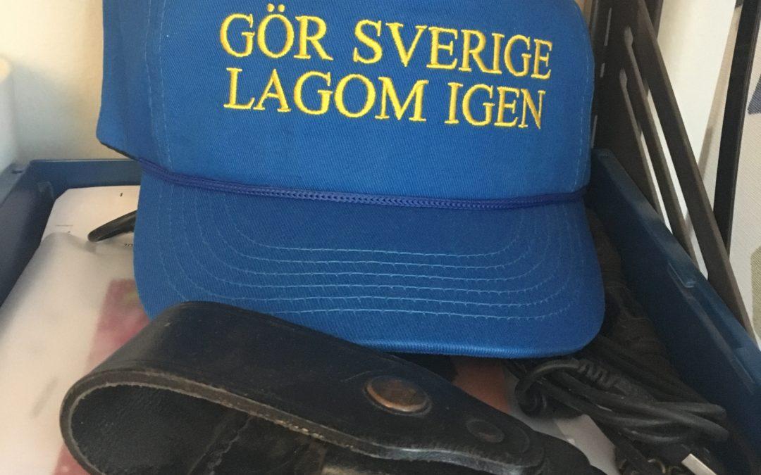 """""""Vart ska vi svenskar ta vägen, när Sverige inte längre är tryggt?"""""""