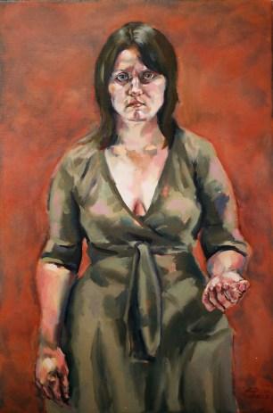 Archaic Portrait (Megan), 2005, oil on linen