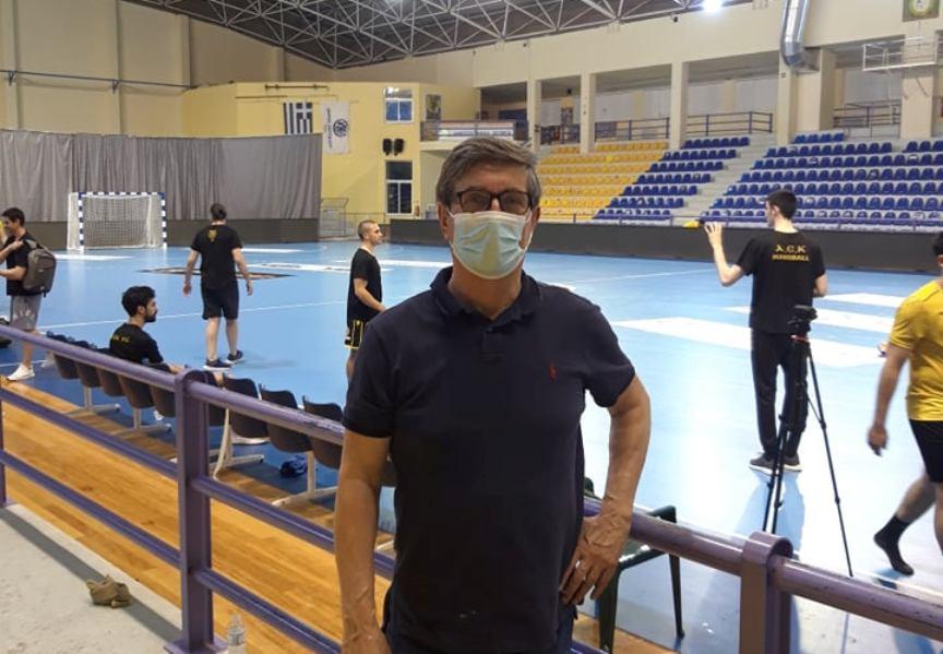 Προσκεκλημένος της ΑΕΚ στον αποψινό μεγάλο τελικό ο Δημήτρης Σκούφας