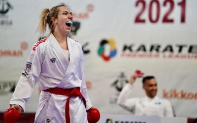 Συμπλήρωσε 20 χρόνια αήττητη και κατέκτησε άλλο ένα χρυσό σε Πανελλήνιο Πρωτάθλημα η Έλενα Χατζηλιάδου