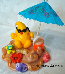 Beach Front Parker StoryBook Scene by KatersAcres