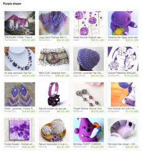 Purple Dream Etsy Treasury