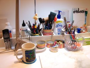 Kater's Acres Polymer Clay Studio Work Table
