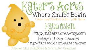 Kater's Acres Business Card Example