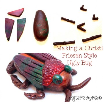 How to Make a Jungle Bug Christi Friesen Style by KatersAcres https://katersacres.com