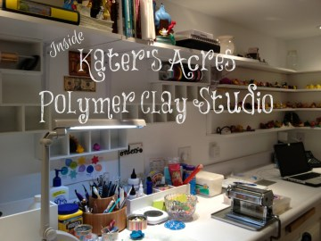 Inside Kater's Acres Polymer Clay Studio Gallery