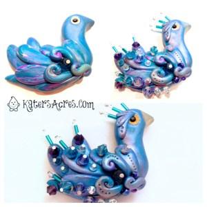 Blue Peacock Tutorial by KatersAcres