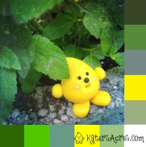 Parker Color Palette Sample & Color Inspiration by KatersAcres
