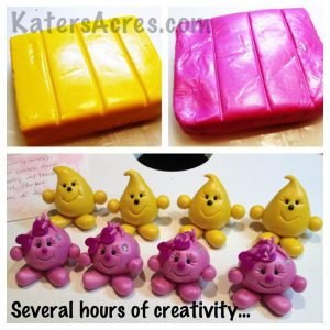 Kater's Acres Polymer Clay Studio Work in Progress - The First Parts of New StoryBook Scenes