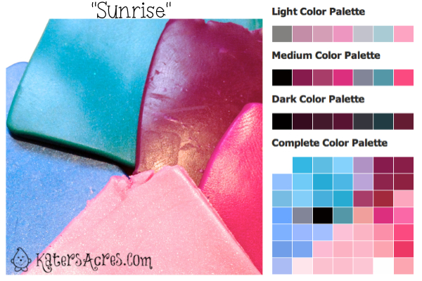 Sunrise Color Palette by KatersAcres | Artistic Prompt & Inspiration Guide