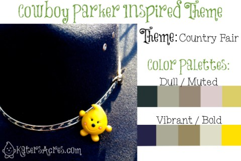 Cowboy Parker Color Theme and Inspiration Prompt by KatersAcres