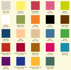 2013 Premo Color Palette by Polyform