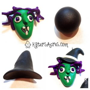 Witch with Hat Tutorial by KatersAcres