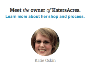 New About Me Link on Etsy Listings by KatersAcres | Learn How to Succeed on Etsy with the Build Your Brand Series