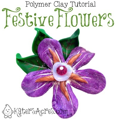 Festive Flowers Tutorial by KatersAcres
