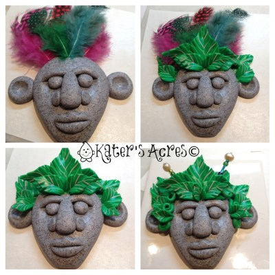 Making a Tribal Face Design Play - Making of a Menehune by KatersAcres