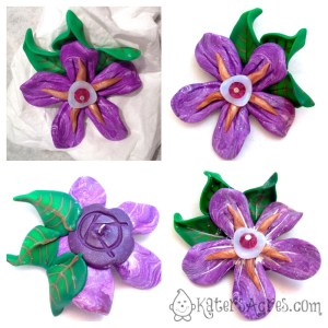 Simple Flower Tutorial - Finishing the Flower Touches by KatersAcres
