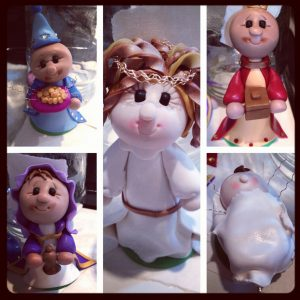 Nativity Scene Figurines Ready to Bake by KatersAcres in Process