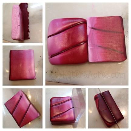 Making the Petals - Veined Skinner Block by KatersAcres - Poinsettia Tutorial Part 1
