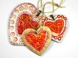 Holo Effect Hearts by Ginger Davis Allman