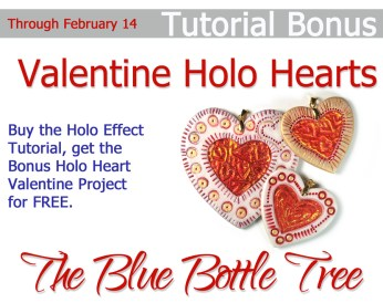 Holo Effects Valentine's Day Heart Bonus by The Blue Bottle Tree