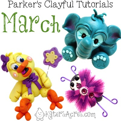 Parker's Clayful Tutorials Club Review - March 2014