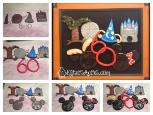 Commemorative Disney Picture in Polymer Clay by KatersAcres