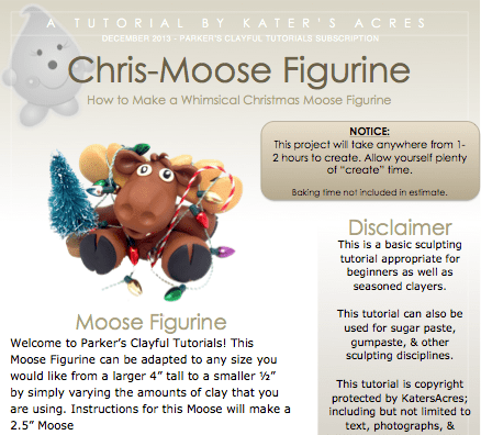 ChrisMoose Figurine Tuturial Screenshot