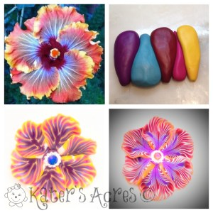 Polymer Clay Flower Challenge by KatersAcres