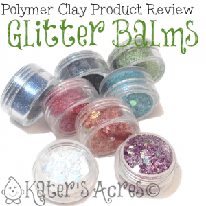 Polymer Clay Glitter Balm Review by KatersAcres
