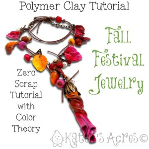 Fall Festival Jewelry Tutorial by KatersAcres