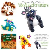 Katie Oskin of KatersAcres is teaching at Polymer Clay Adventure, Virtual Retreat