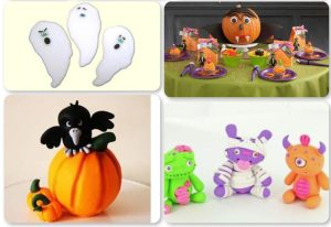 21 Halloween Polymer Clay Tutorials - Quad 4