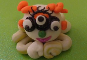 Monster Ball Challenge Entry by Jo-Anne Wenck