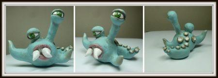 KatersAcres Monster Ball Challenge GRAND PRIZE WINNER, Monster made by Andrea