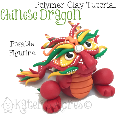 Posable Chinese Dragon Tutorial by KatersAcres