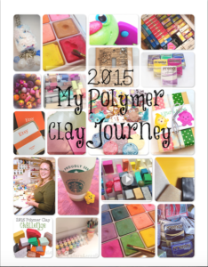 2015 Polymer Clay Calendar by KatersAcres