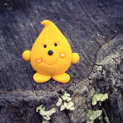 Parker - Handmade Polymer Clay Figurine by KatersAcres