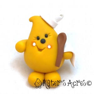 Chef Parker by KatersAcres | Open edition polymer clay collectible