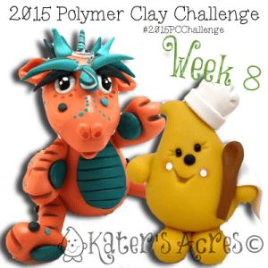 2015 Polymer Clay Challenge - Week 8 by KatersAcres | FREE International challenge for polymer clay artists #2015PCChallenge