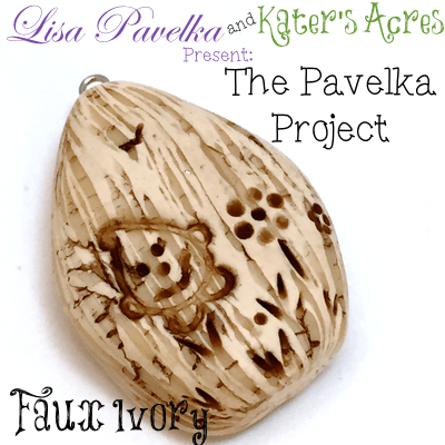 March Pavelka Project: Faux Ivory Technique by KatersAcres