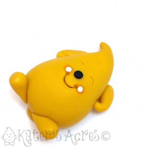 Spring Nap Parker Polymer Clay Character | Handmade in NW PA by Katie Oskin of KatersAcres