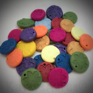 Unfinished Polymer Clay Simple Ornaments by KatersAcres
