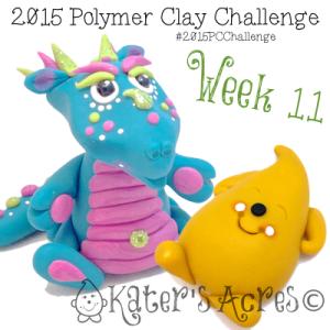 2015 Polymer Clay Challenge - Week 11 by KatersAcres   FREE International challenge for polymer clay artists #2015PCChallenge